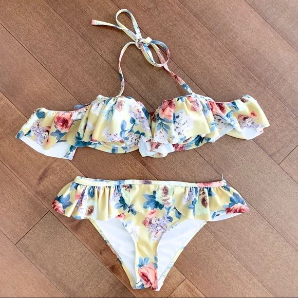 Modcloth Other - MODCLOTH Floral Swimsuit